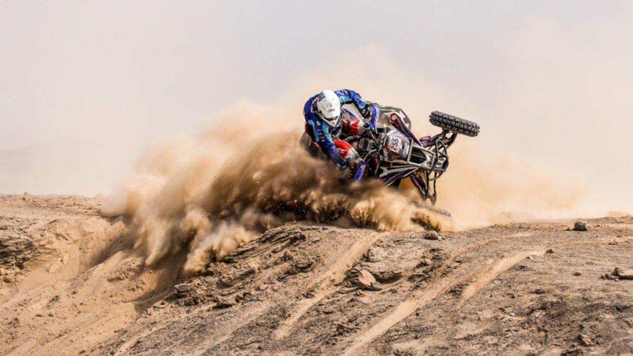 Dos argentinos quedaron en lo más alto en quads — Dakar