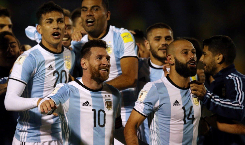 La selección argentina se mantiene cuarta en el ránking FIFA