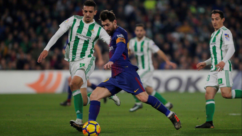 Barcelona, con un doblete de Messi, goleó 5-0 a Betis como visitante