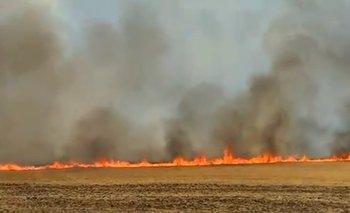 Video: el fuego ya arrasó más de 4.000 hectáreas en Sierra de la Ventana