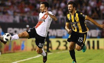 Superliga: Olimpo perdió 2-0 con River en el Monumental