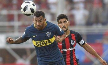 Boca sacó un punto importante para seguir alejado de San Lorenzo