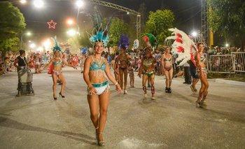 Nueva noche para los Carnavales de Guaminí