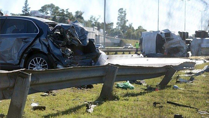 Borracho al volante mató a dos personas en Acceso Oeste
