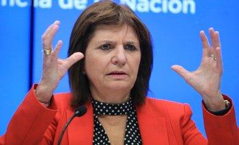 """Bullrich dice que va a """"saturar"""" de fuerzas federales los barrios más violentos de Rosario"""