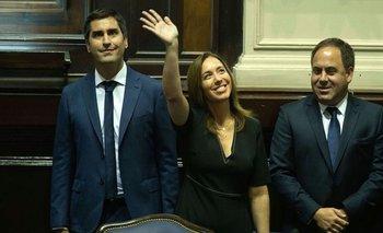 """""""A la Provincia no le sobra nada y todavía duele"""", dijo Vidal al abrir las sesiones bonaerenses"""