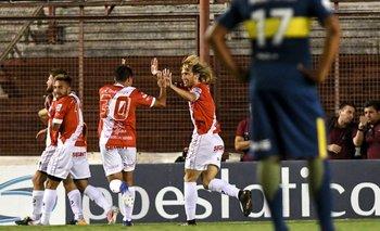 Superliga: Boca perdió ante Argentinos por 2-0 en La Paternal