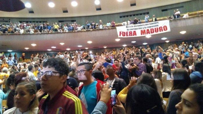 (AUDIO) Oposición presenta plataforma política