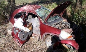 Murió un hombre tras un accidente en la ruta 35: manejaba un menor de 15 años