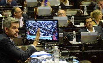 """En Diputados, Peña insistió en que la inflación """"está bajando"""" y que el salario real """"está creciendo"""""""