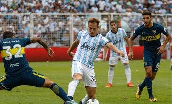 Superliga: Boca rescató un empate sobre el final ante Atlético Tucumán