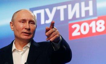 Putin arrasó en las elecciones de Rusia y consiguió el cuarto mandato