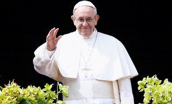 En su bendición por Pascua, Francisco pidió por Tierra Santa, Venezuela y Siria
