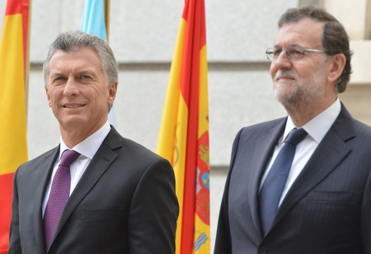 Macri y Rajoy destacaron el