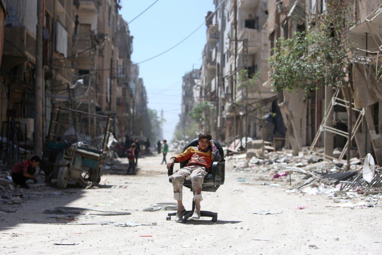 Merkel y Putin apuestan por impulsar un proceso político en Siria