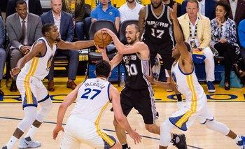 NBA: Manu y los Spurs afrontan la primera localía ante los Warriors