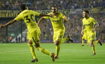 Boca le ganó a Newell's y sacó 6 puntos de ventaja en la Superliga
