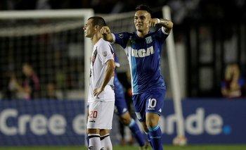 Copa Libertadores: a Racing no le alcanzó el gol de Lautaro Martínez para ganar en Brasil