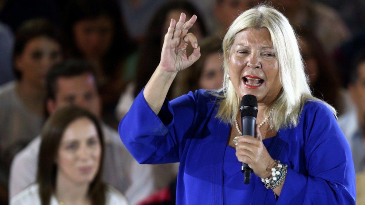 """""""Macri se tiene que dar cuenta que la clase media no da más"""", lanzó Carrió"""