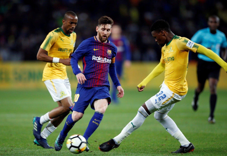 Messi jugó quince minutos y revolucionó Sudáfrica