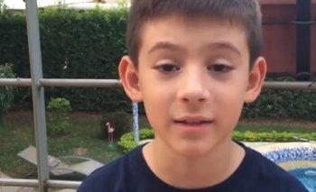 """""""No soy un loco ni un raro"""", el nene que le explica a millones de personas lo que es tener Asperger"""