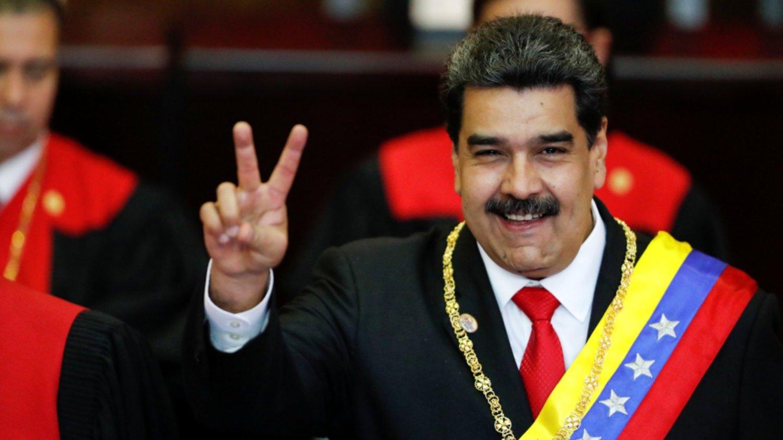 Con el mundo dándole la espalda, Maduro asumió su segundo mandato hasta 2025