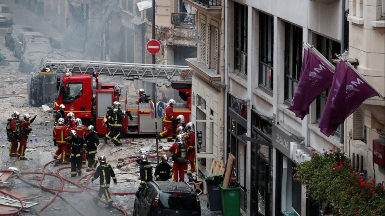 Una fuerte explosión deja 12 heridos graves, cinco en estado crítico, en el centro de París