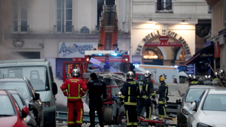 Explotó una panadería en París: hay múltiples heridos