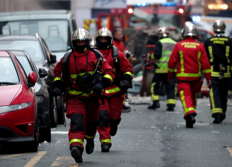 Muere una española en la explosión de la panadería de París