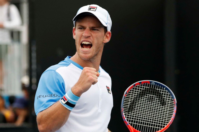 Schwartzman avanzó tras vencer a Kudla en cinco sets — Australian Open