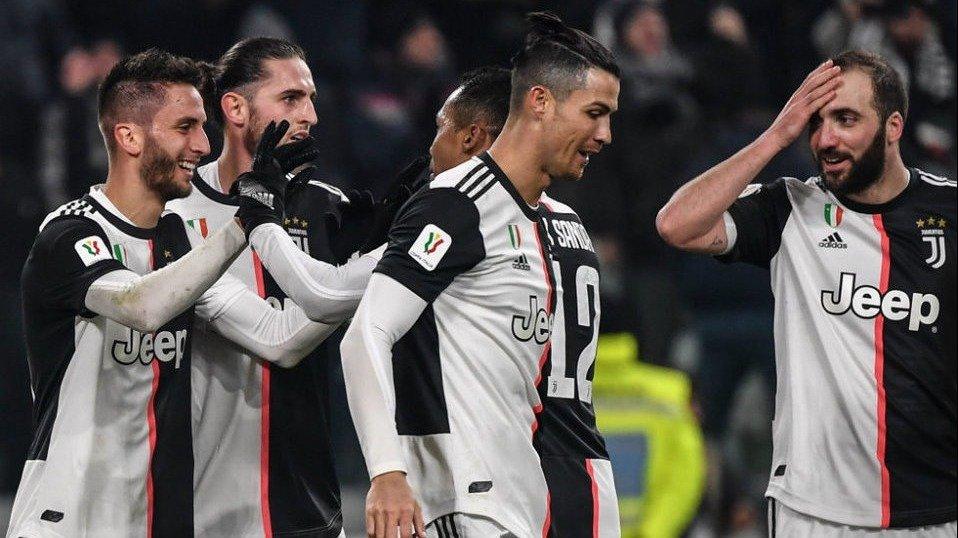 Juventus Con Gonzalo Higuain Vencio A Roma 3 A 1 Y Avanzo En La Copa Italia