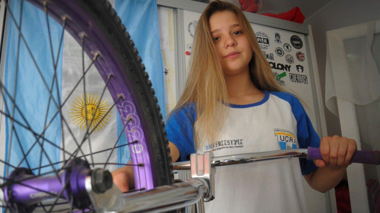 BMX: Agustina Roth y su objetivo, los Juegos Olímpicos de la Juventud
