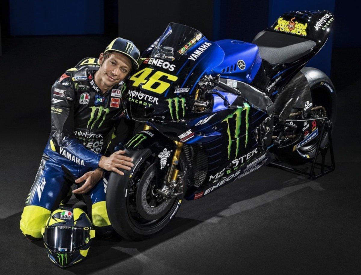 Yamaha presentó la flamante unidad para el Mundial 2019 — Moto GP