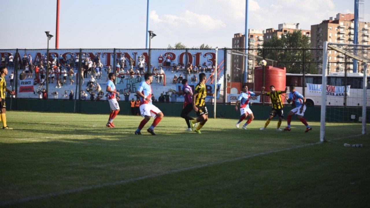 ¿Off-side de quién? La jugada del gol anulado a Olimpo, llena de polémica