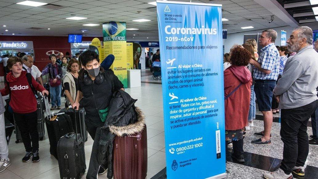 Hay dos casos sospechosos de coronavirus en Buenos Aires
