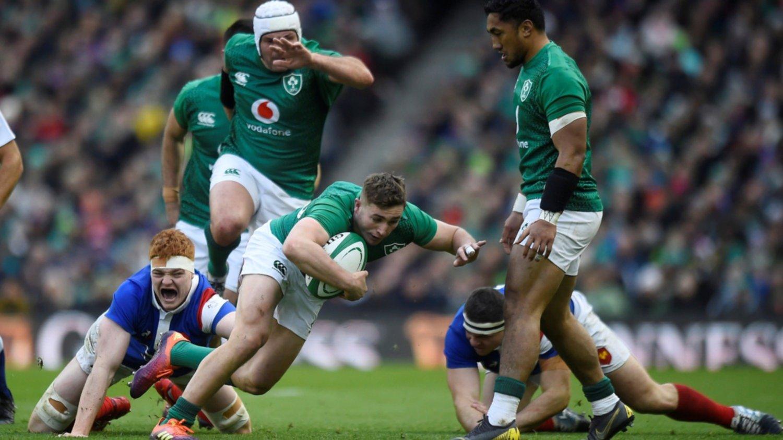Irlanda sacó bonus ante Francia