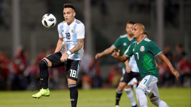 Lautaro Martínez valoró la importancia de Messi