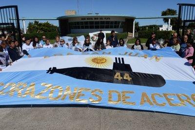 Los tripulantes del ARA San Juan recibieron el ascenso post mortem