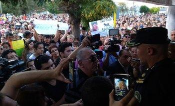 Marcharon en Villa Rosas por el crimen de Agustina Bustos