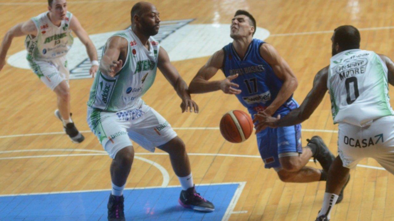 El resorte de Bahía Basket; la locura de Argentino y el hundimiento, con posible corte, de Atenas