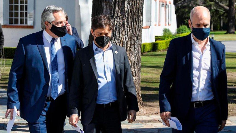 Fernández convocó a Rodríguez Larreta por la suba de contagios