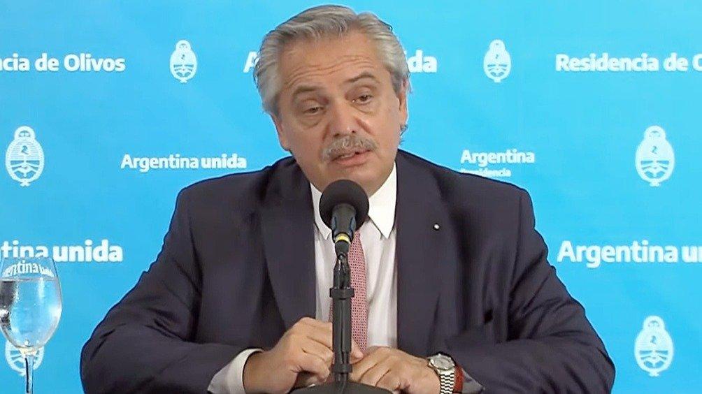 Clases: Alberto Fernández recibe a Rodríguez Larreta en Olivos