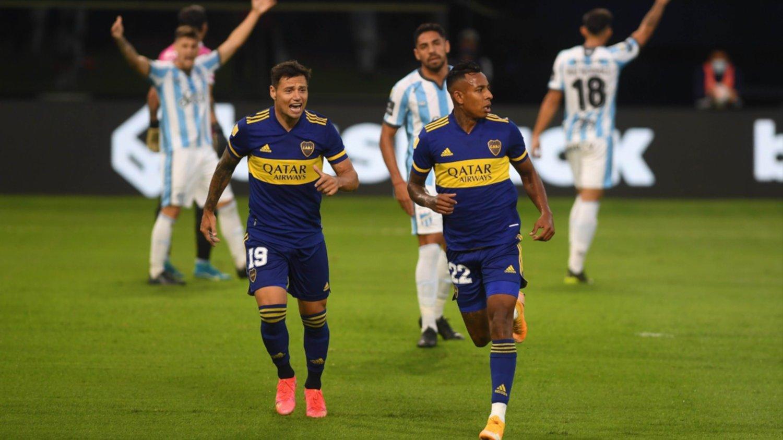 Boca venció a Atlético Tucumán en la Bomonera