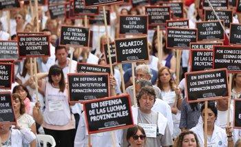 """""""El gremio docente es el único que le ganó a la inflación"""", dicen desde la Provincia"""