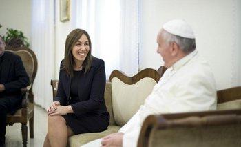 Francisco recibe a Vidal y a Stanley en el Vaticano