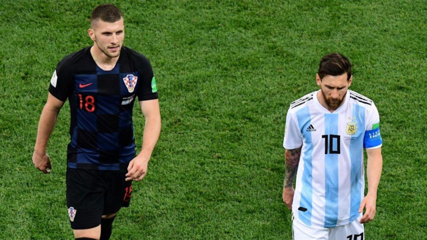 ¿Por qué un jugador croata que no quiso intercambiar camiseta con Messi ?