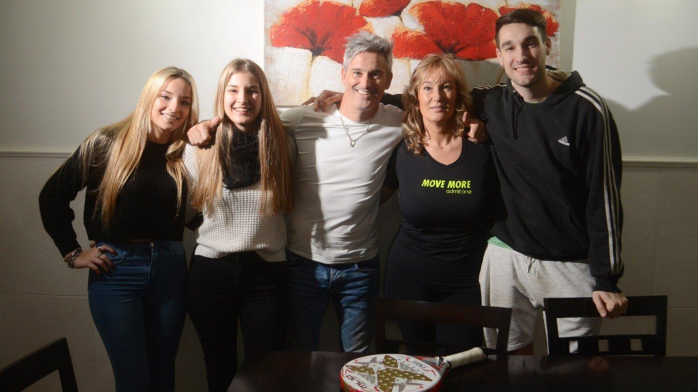 Padel Estar Con La Familia Me Da Energia Y Mucha Vida Dijo