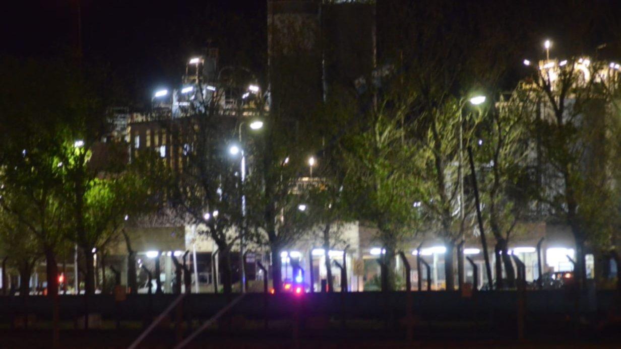 Reportaron una gran explosión seguida de incendio en Bahía Blanca