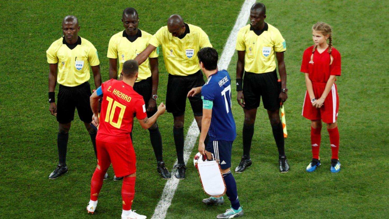 Bélgica derrota a Japón y avanza a cuartos de final
