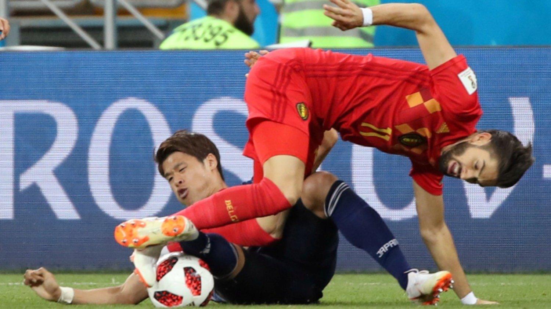 Con memes, la afición vibró con el emocionante partido Bélgica vs. Japón
